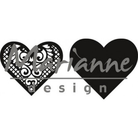 Marianne Design Craftables Lace Heart