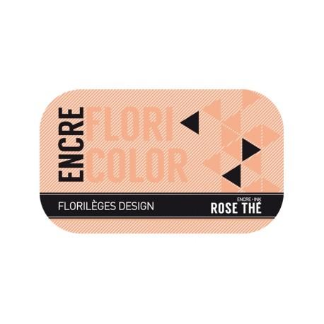 FLORILEGES ENCRE FLORICOLOR ROSE THE