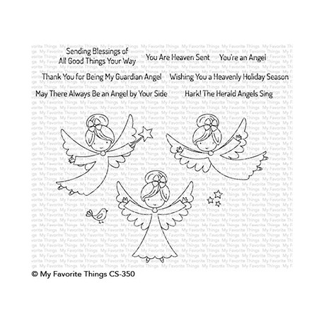 MFT LITTLE ANGELS CLEAR STAMPS