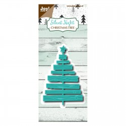 JoyCrafts DIES SILENT NIGHT, CHRISTMAS TREE