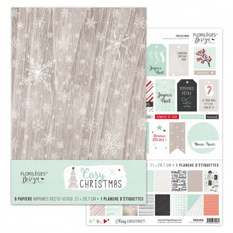 Kit collection COSY CHRISTMAS, FORMAT A4