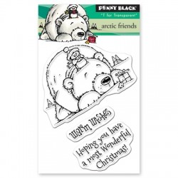 PENNY BLACK Clear Stamps - ARCTIC FRIENDS