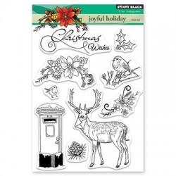 PENNY BLACK Clear Stamps - JOYFUL HOLIDAY