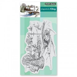 PENNY BLACK CLING STAMPS - PEACEFUL VILLAGE