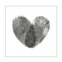 Vaessen Creative • Prägeschablone Fingerabdruck