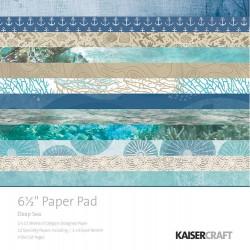KAISERCRAFT DEEP SEA PAPER PAD 16X16 CM