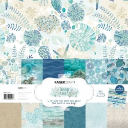 KAISERCRAFT DEEP SEA COLL PACK, 30,5 X 30,5 CM, 12