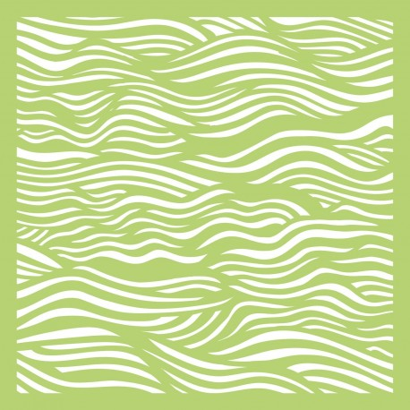 KAISERCRAFT DEEP SEA TEMPLATE STENCIL 15.2 X15.2 cm