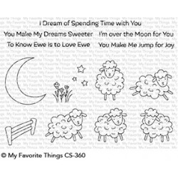 My favorite Things : OVER THE MOON FOR EWE CLEAR STAMPS