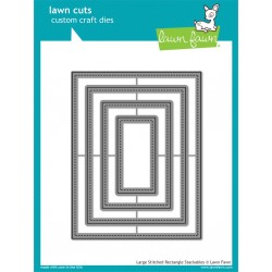 LAWN FAWN CUTS LARGE STITCHED RECTANGLE STACKABLES