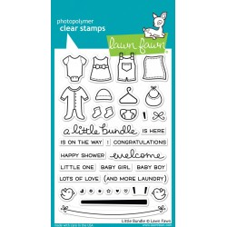 LAWN FAWN  LITTLE BUNDLE STAMPS