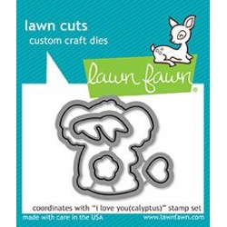 LAWN FAWN CUTS I LOVE YOU CALYPTUS
