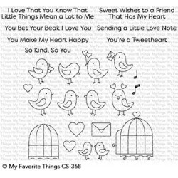 My favorite Things : TWEETHEARTS CLEAR STAMPS