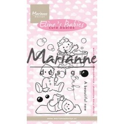 MARIANNE DESIGN CLEAR STAMPS ELINES CUTE BABIES