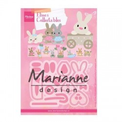 MARIANNE DESIGN COLLECTABLES ELINES BABY BUNNY