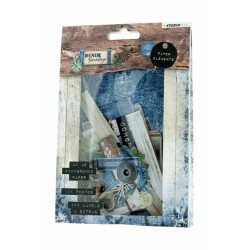 Studio Light EASY DIE CUT PAPER SET 645, DENIM SATURDAYS
