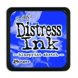 DISTRESS INK MINI BLUEPRINT SKETCH