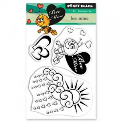 PENNY BLACK Clear Stamps - BEE MINE
