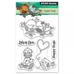 PENNY BLACK Clear Stamps - HAPPY HUGS