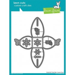 LAWN FAWN CUTS BUTTERFLY TREAT BOX