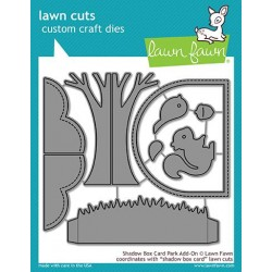 LAWN FAWN CUTS SHADOW BOX CARD PARK ADD-ON