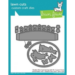 LAWN FAWN CUTS SHADOW BOX CARD SPRING ADD-ON