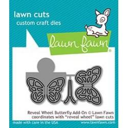 LAWN FAWN CUTS REVEAL WHEEL BUTTERFLY ADD-ON