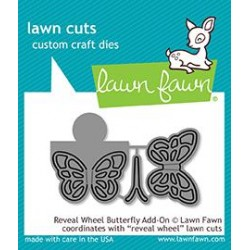 LAWN FAWN CUTS REVEAL WHEEL BUTTERFLY ADD-ON