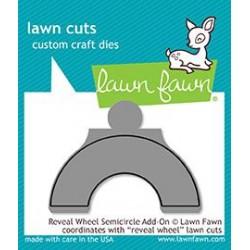 LAWN FAWN CUTS REVEAL WHEEL SEMI-CIRCLE ADD-ON