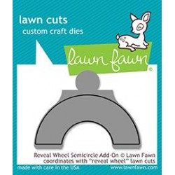 LAWN FAWN CUTS REVEAL WHEEL SEMI-CIRCLE ADD-ON