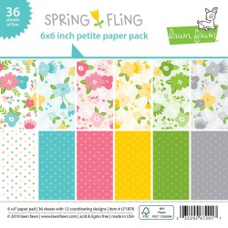 LAWN FAWN PAPER PAD SPRING FLING