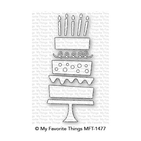 My favorite Things :BIRTHDAY CAKE DIES