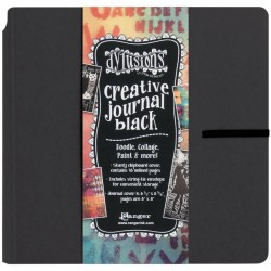 RANGER DYLUSIONS CREATIVE JOURNAL BLACK SQUARE