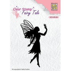 NELLIES CHOICE CLEARSTAMP FAIRY TALE NR. 8