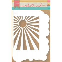 MARIANNE DESIGN mask stencil CLOUDS & SUNBURST