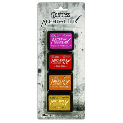 TIM HOLTZ DISTRESS® ARCHIVAL MINI INK KIT 1