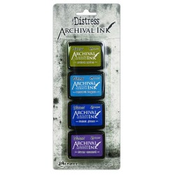 TIM HOLTZ DISTRESS® ARCHIVAL MINI INK KIT 2