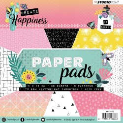 STUDIO LIGHT  PAPER PAD CREATE HAPPINESS 112