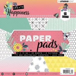 STUDIO LIGHT  PAPER PAD CREATE HAPPINESS 111