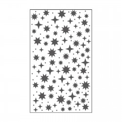 VAESSEN CREATIVE CUT EASY EMBOSSING FOLDER STARRY SKY