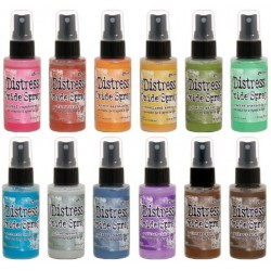 Tim Holtz distress oxide SET 1 SPRAY ALL NEW COLOURS