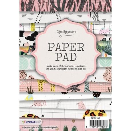 Studio Light Paper Pad A5 36 sheets 12 designs , nr. 106