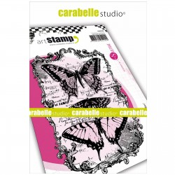 Carabelle cling stamp A6 Butterflies