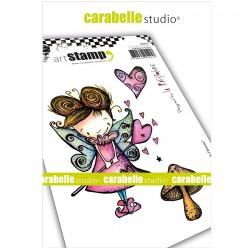 Carabelle cling stamp A6 Fée de l'Amour
