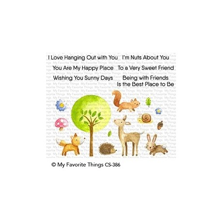 My favorite Things : SWEET SPRING FRIENDS CLEAR STAMPS