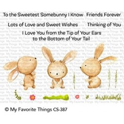 My favorite Things : SWEETEST SOMEBUNNY CLEAR STAMPS