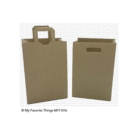 My favorite Things : PAPER BAG TREAT BOX DIES