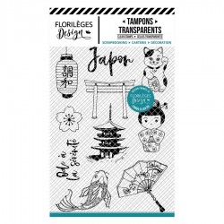 FLORILEGES DESIGN Tampons Clears JAPON COLLECTION SAKURA