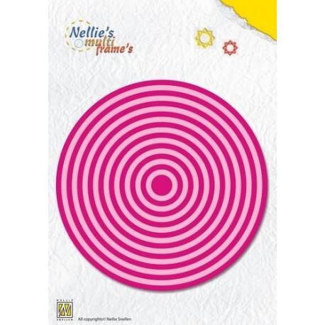 NELLIES CHOICE DIE SET CIRCLES (19 DIES)