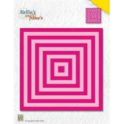 NELLIES CHOICE DIE SET SQUARE (11 DIES)
